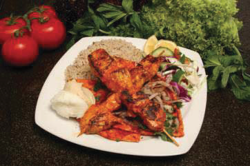 Chicken Taouk- (Chicken Platter)