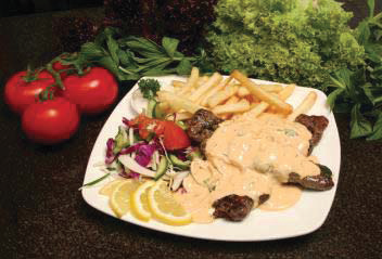 Kafta with Tahini Sauce